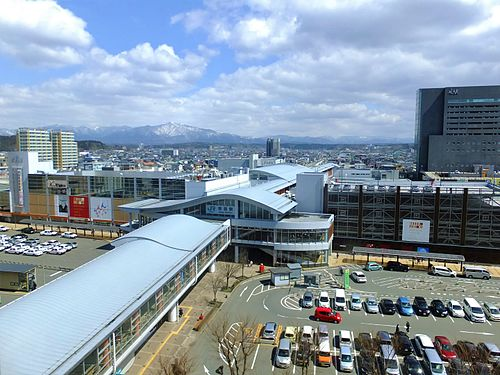 秋田駅周辺の駐車場マップ!料金の安い駐車場と無料駐車場10選!