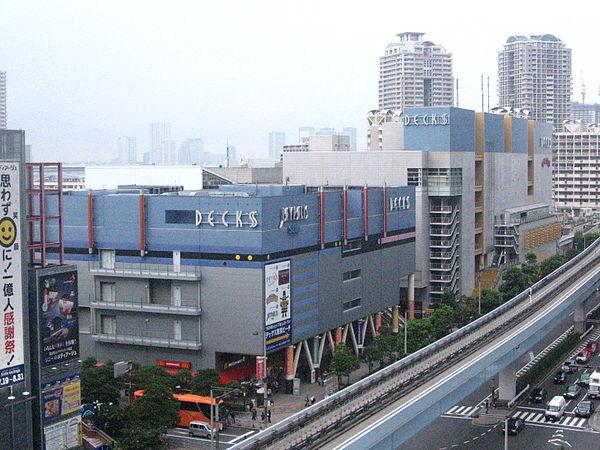 デックス東京ビーチの駐車場!ジョイポリスの利用割引は?