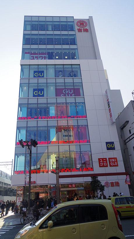 【上野・御徒町】吉池本店ビルの駐車場!場所や料金・サービスは?