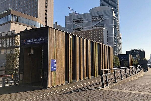 中之島駅周辺のおすすめ駐車場!予約はピージーがおすすめ!