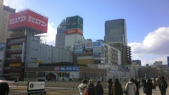 【仙台駅前】イービーンズの駐車場!料金や提携先の無料割引は?